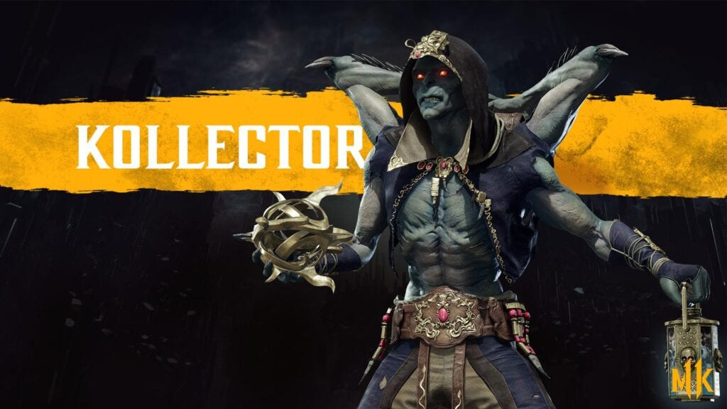 Mortal Kombat 11 Reveals The Kollector As All-New Fighter (VIDEO)