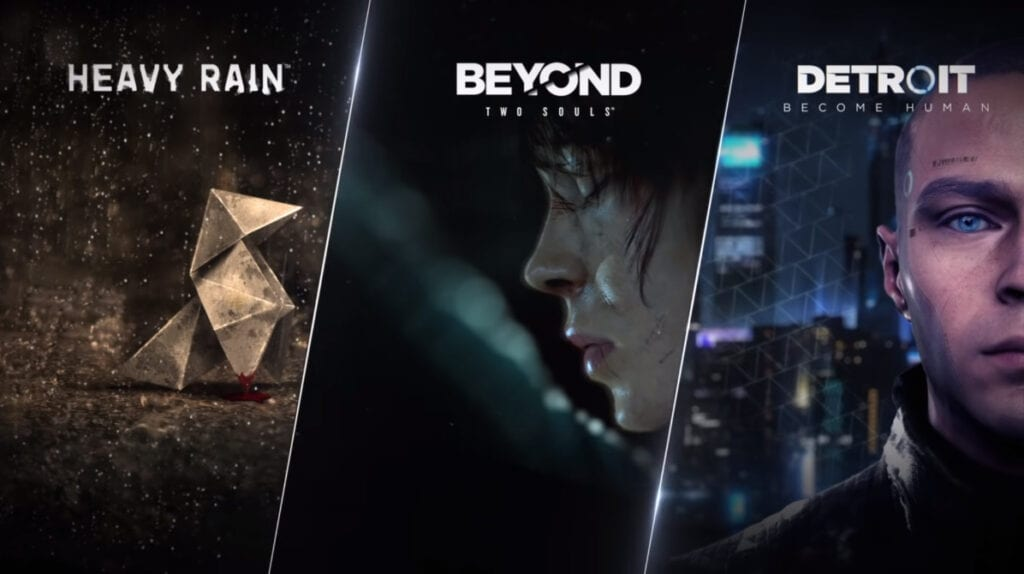 Heavy Rain Detroit Become Human Beyond Two Souls PC