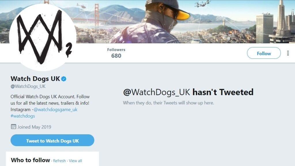 Watch Dogs 3 E3 Announcement Hinted By Social Media Account