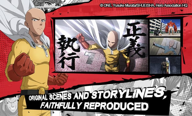 One Punch Man Video Game Announced
