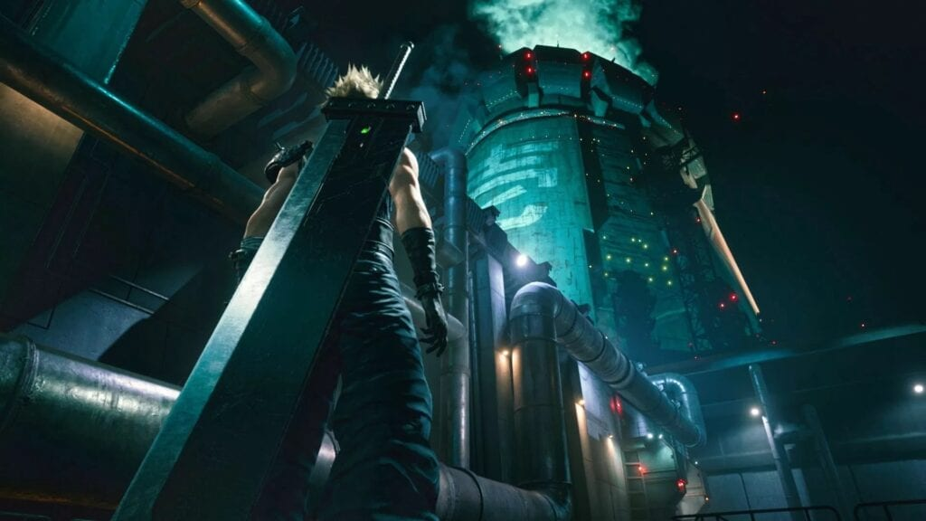 Final Fantasy VII Remake Concept Art Shows Off Midgar's Sector 1