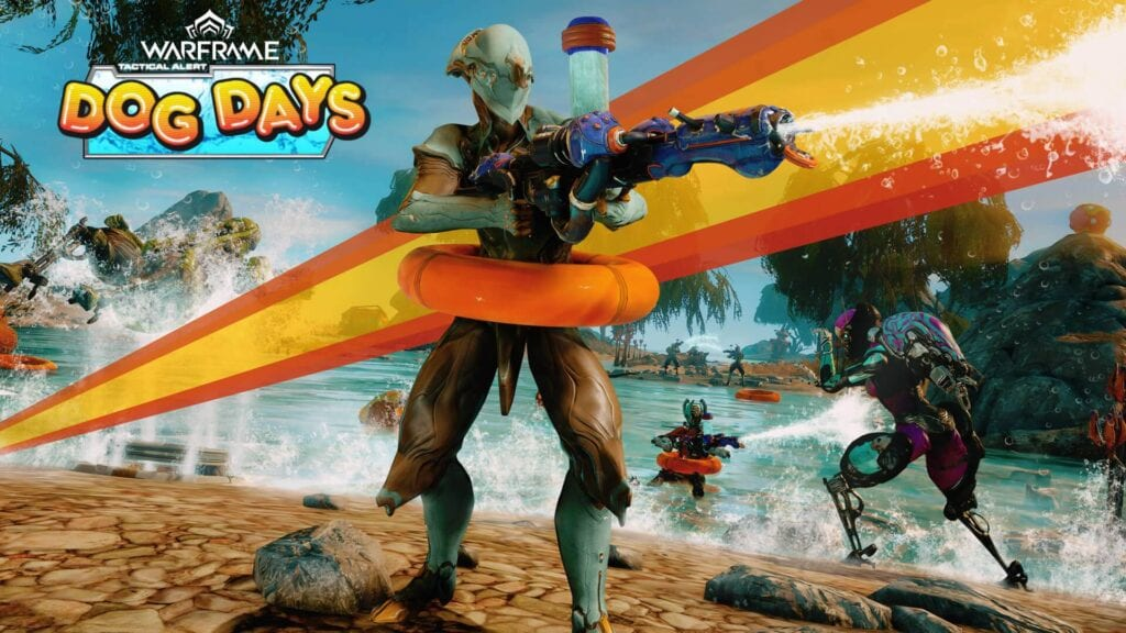 New Warframe Event Sends Players To The Beach With A Water Gun (VIDEO)