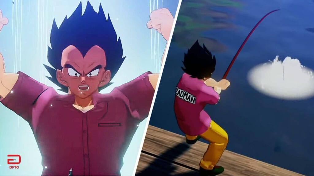 Dragon Ball Z: Kakarot Gameplay Shows Vegeta Fighting And Fishing (VIDEO)